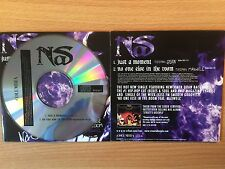 "NAS - ""Just A Moment feat QUAN""- Rare UK Promo Only Rap CD Single 2005-BRAND NEW"