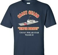 USCGC POLAR STAR  WAGB-10 *COAST GUARD  VINYL PRINT SHIRT/SWEAT