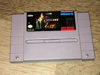Phalanx Super Nintendo Snes Cleaned & Tested Authentic