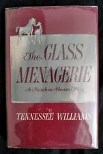 TENNESSEE WILLIAMS The Glass Menagerie FIRST EDITION HC DJ