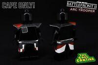 Lego MINIFIGS ORANGE CUSTOM Cape Cloth Accessory Starwars Batman Castle NEWT
