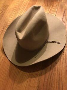 Vintage Stetson XXXX 4X Beaver Open Road Style Western Fedora Hat