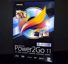 CyberLink Power2Go 11 Platinum for Windows ✔NEW✔