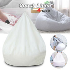Large Soft Inner Liner for Bean Bag Chairs Cover Lazy Sofa Seat Easy Clean S-XL