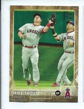 2015 TOPPS UPDATE MIKE TROUT THROWBACK VARIATION SSP #300
