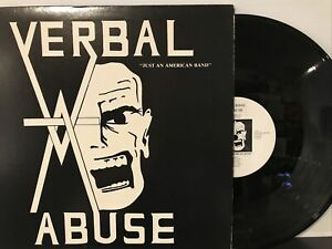 Verbal Abuse – Just An American Band LP 1984 Fowl Records – #5 - FIRST PRESS VG+