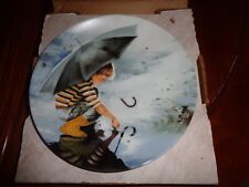 Pemberton & Oakes Collectors Plate TOUCHING THE SKY From WONDER OF CHILDHOOD 2