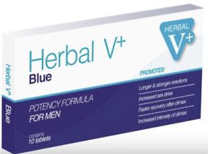 10 x Herbal V Natural performance enhancer!