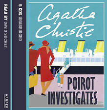 Poirot Investigates Unabridged by Agatha Christie (CD-Audio, 2005)