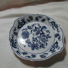 """Vintage Ceramic Porcelain 7"""" Blue Danube Serving Dish Bowl Plate"""