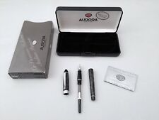 Aurora B13-C Lacquered Fountain Pen 14k 585 Solid Gold Nib- Like New UNUSED