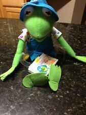 The MUPPET SHOW Figure KERMIT the FROG Plush Toy And  Tape