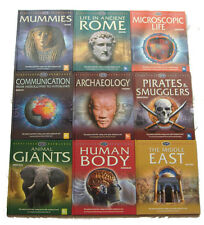 9 Mixed Titles Kingfisher Knowledge General Interest Chidrens Reference Books