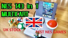 BEST NES Games * 143 in 1 * with Save Function * PAL/NTSC UK stock