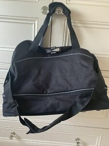 Small Mitre Football Sports Gym Black Bag Good Condition