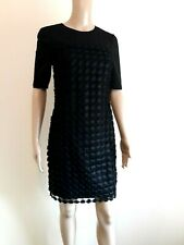 TED BAKER NADIRA BLACK LACE LAYERED SHIFT DRESS BNWT UK 6 TED 0 US 2 RRP £180.00