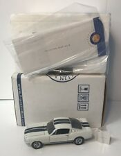 Franklin Mint 1965 Ford Mustang Shelby GT350 1/24 W/ Papers Excellent Condition!