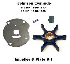 Evinrude Water Pump Impeller Kit 9.5 HP 1964-1973, 10 HP 1958-1963