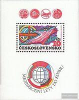 Tschechoslowakei Block40A (kompl.Ausg.) postfrisch 1980 Kosmos