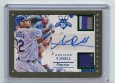 2016 DIAMOND KINGS #DKS-AS ADDISON RUSSELL AUTOGRAPH PATCH SP #4/5, CHICAGO CUBS