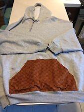 Fruit of the Loom Hoodie Sweatshirt 3xl Gray GG pocket Dapper Dan Streetwear