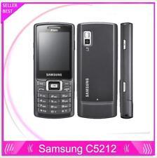"Original Unlocked Samsung C5212 2.2"" 1.3MP Dual SIM Bluetooth Mp3 Mobile Phone"