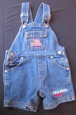 U.S. Polo 1890 Association Jean Co. Children's Shorts Overalls 18 Month T@@ CUTE