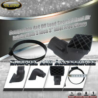 Compatible 4x4 Off Load Snorkel Head Air Intake Ram 3''  3 inch Inlet Free Clamp