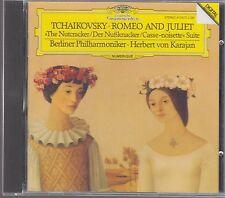 Karajan TCHAIKOVSKY Romeo & Juliet - DG 410 873-2 W.Germany Full Silver No IFPI