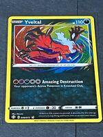 Yveltal 046/072 Amazing Rare HOLO SHINING Fates Pokemon TCG