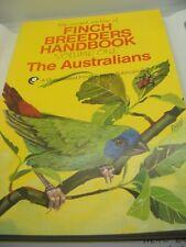 Finch Breeders Handbook Volume 1 The Australians Book Revised Ed Care Breeding