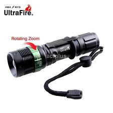 Ultrafire Lumens CREE XM-L T6 LED Compact 18650 Flashlight Torch US