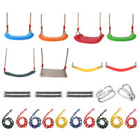 Garden Swing Set Seat/Rope/Strap/Connector/Chain Kid Adult Outdoor Fun Play Game