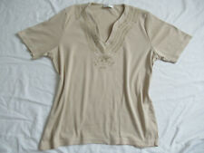 Bonita Shirt Gr. 42 beige
