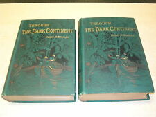 Through The Dark Continent by Henry M. Stanley  1879  Hardback