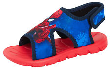 Boys Spiderman Lightweight Sports Sandals Kids Marvel Summer Beach Shoes Size