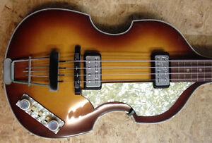 Höfner Beatles Bass Topzustand mit Originalkoffer - gebraucht