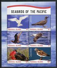 Marshall Islands 2018 MNH Seabirds of Pacific Albatross Tern 6v M/S Birds Stamps