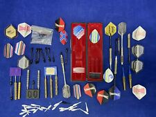 Vintage Darts Lot Complete and parts Tips, Bodies and Fins
