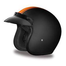 Daytona Cruiser Helmet Slim Line 3/4 Open Face Motorcycle DOT Approved 2XS-4XL