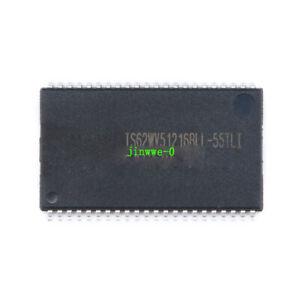 1pcs SMD IS62WV51216BLL-55TLI TSSOP-44 RAM memory Circuits Chipsets