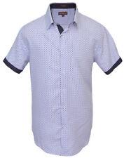 St Patrick Mens Big and Tall Short Sleeve White Microfiber Shirt 6XL XXXXXXL