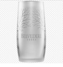 Belvedere Frosted Vodka Glass New