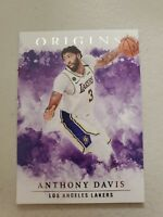 ANTHONY DAVIS 2020-21 Panini Origins #45 Los Angeles Lakers