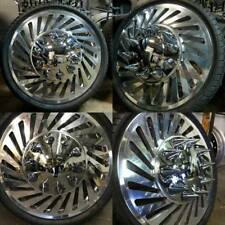22, 22.5 and 24 Alcoa Custom MILLION Dually Rims Dually Wheels Custom