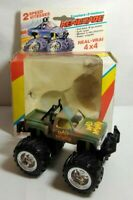 MC TOY MOTORIZED DIECAST 4 X 4 RENEGADE - MAD MASHER - #8705 - BOXED
