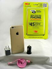 Apple iPhone 6 - 16GB - Gold (Verizon/Straight Talk & More)with Accessories