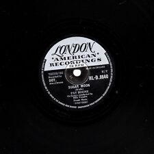 "1958 UK #6  PAT BOONE 78 "" SUGAR MOON / CHERIE I LOVE YOU ""  LONDON HL-D 8640 EX"