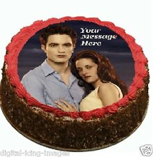 Twilight Cake topper edible image icing birthday party occasion REAL FONDANT