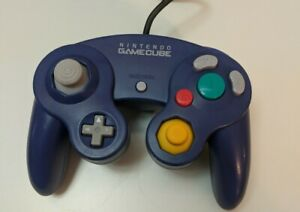 Official Nintendo GameCube Purple OEM Wired Controller DOL-003 Tested| Authentic